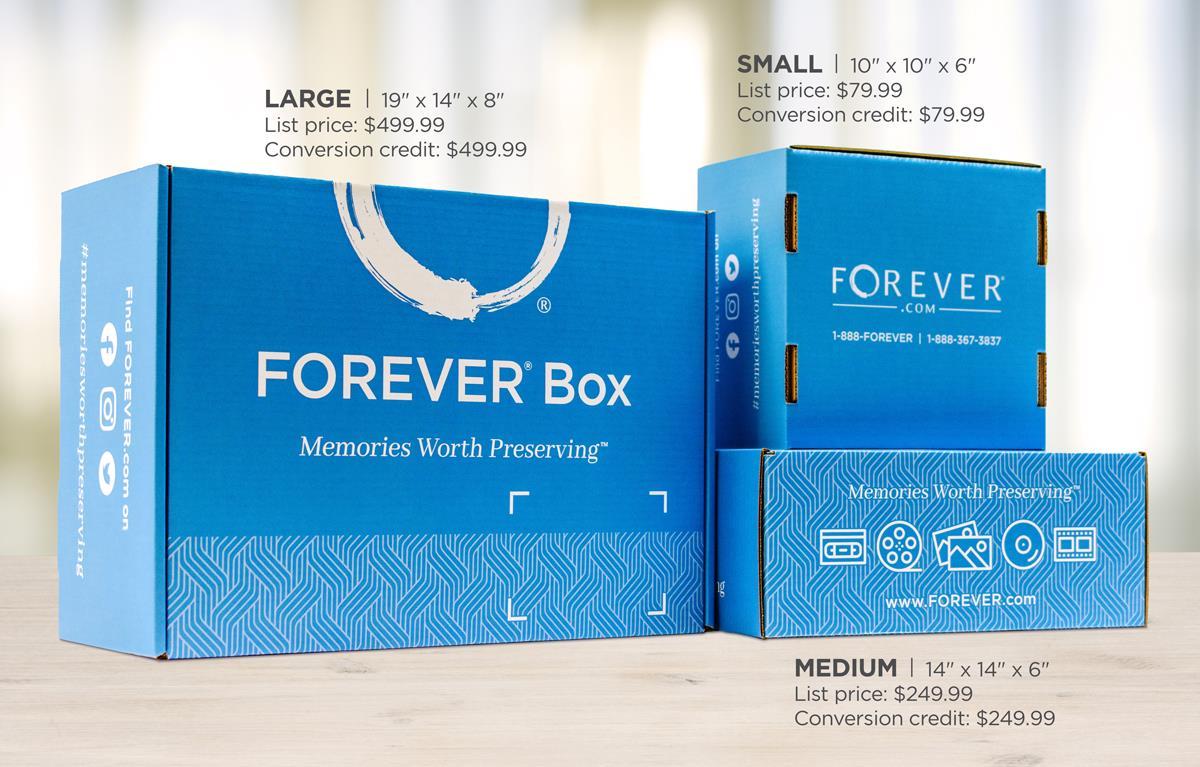 New FOREVER Box