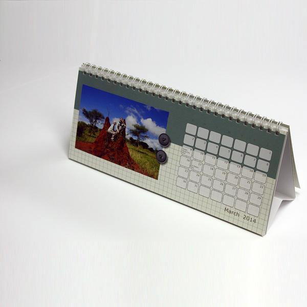 Desk Calendar (10 X 4)