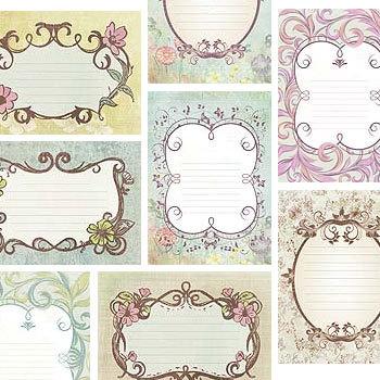 Vintage Wedding Journals Digital Art - Digital Scrapbooking Kits