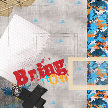 In It To Win It Kit Digital Art - Digital Scrapbooking Kits