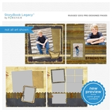 Rugged 12x12 Predesigned Pages