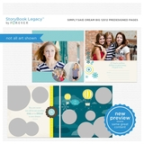 Simply Said Dream Big 12x12 Predesigned Pages