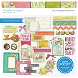 April Afternoon Digital Kit