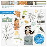 Changing Seasons Autumn Winter Digital Kit