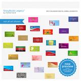 2012 Calendar Digital Embellishments