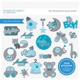 Tiny Treasures Boy Digital Shapes