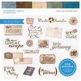 Jewel Vacation Digital Kit
