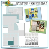 11x8.5 Daily Files Kit 2014