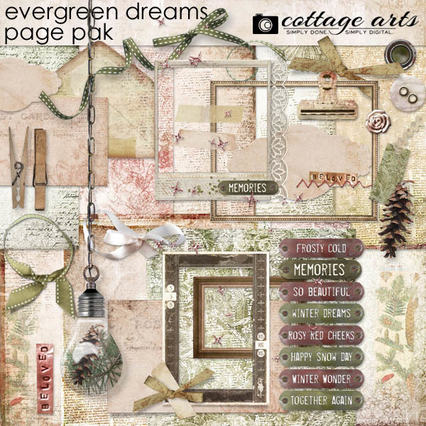 Evergreen Dreams Page Pak