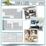 12x12 Clean & Classic Blueprint Book