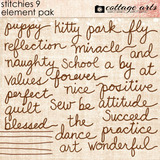 Stitchies 9 Element Pak