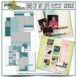 12x12 Time Of My Life Blueprint Book