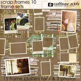 Scrap.frames 10 - Frame Sets