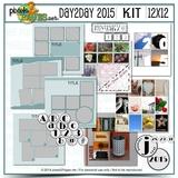 12x12 Day2day 2015 Kit