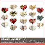 Letter Box Love Hearts