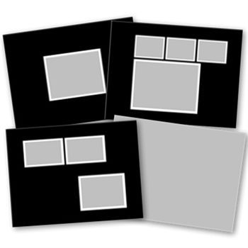 7x5 Basic Black Softcover