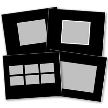 Basic Black 11x8