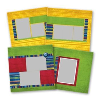 Elementary School 12x12 Predesigned Pages (Canceled)