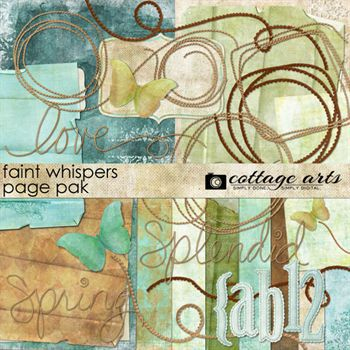 Faint Whispers Page Pak