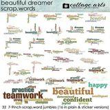 Beautiful Dreamer Scrap.words