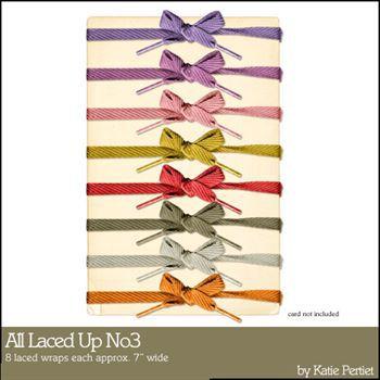 All Laced Up No. 03 Digital Art - Digital Scrapbooking Kits