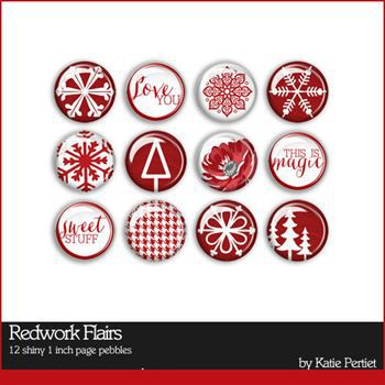 Redwork Flairs
