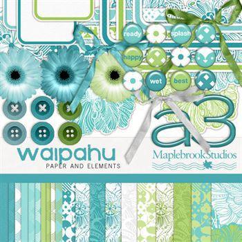 Waipahu Kit Digital Art - Digital Scrapbooking Kits