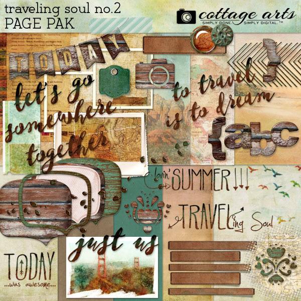 Traveling Soul No. 2 Page Pak