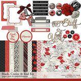 Red, Black And Creme Kit