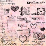 Love Letters Click.stamps