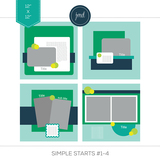 Simple Starts #1-4 (12x12)