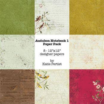 Audubon Notebook Paper Pack No. 01