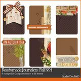 Readymade Journalers Fall No. 01