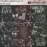 Chalkboard Christmas Mini Pak