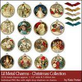 Lil Metal Charms Christmas Collection