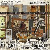 Garage Grunge Page Pak