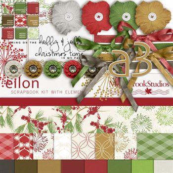 Eilon Kit Digital Art - Digital Scrapbooking Kits