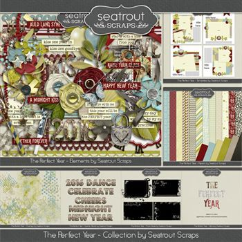 The Perfect Year Bundle Digital Art - Digital Scrapbooking Kits