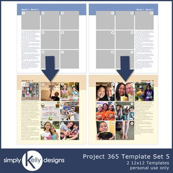 Project 365 Template Set 5
