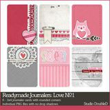 Readymade Journalers Love No. 01