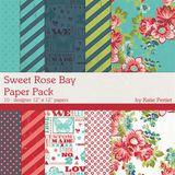Sweet Rose Bay Paper Pack