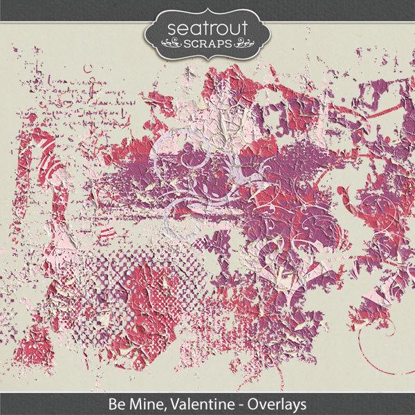 Be Mine, Valentine Overlays