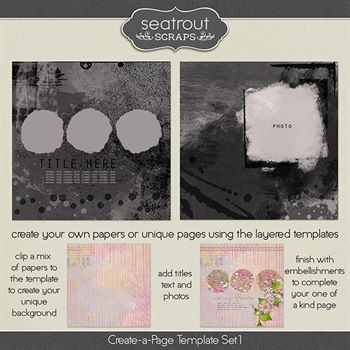 Create-a-page Template Set 1