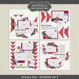 January Jazz Template Set 4