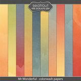 Mr Wonderful Colorwash Papers