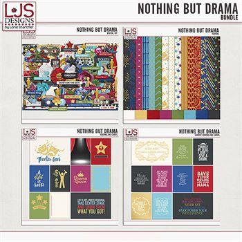 Nothing But Drama - Bundle Digital Art - Digital Scrapbooking Kits