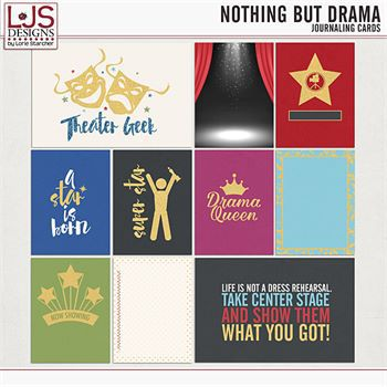 Nothing But Drama - Journal Cards