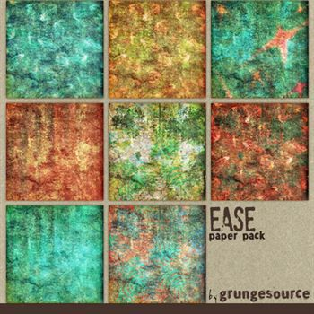 Ease Paper Pack Digital Art - Digital Scrapbooking Kits