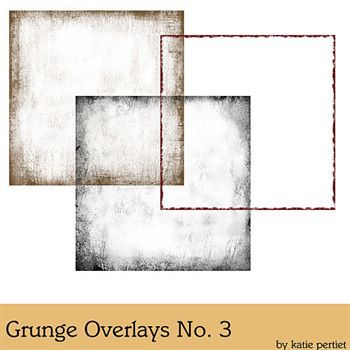 Grunge Overlays No. 03 Digital Art - Digital Scrapbooking Kits