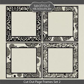Cut Out Page Frames Set 2